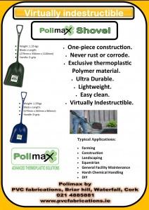Polimax shovel